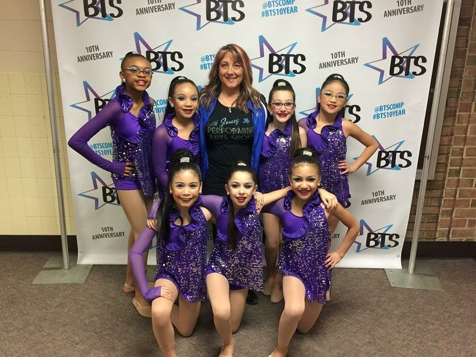 """A team from South Jersey Performing Arts is ready for competition in our """"Illusion"""" eyes."""