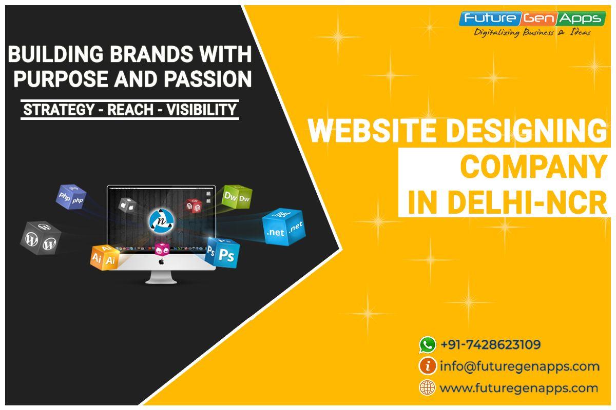 Top Website Designing Company In Ghaziabad In 2020 Website Design How To Memorize Things