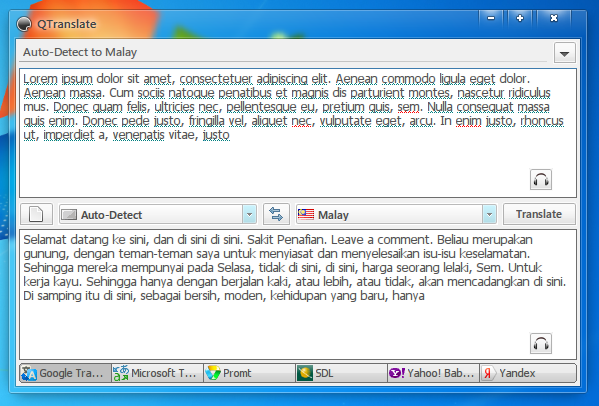 Qtranslate Membolehkan Penterjemahan Bahasa Terus Dari Atas Aplikasi Lorem Ipsum Blog