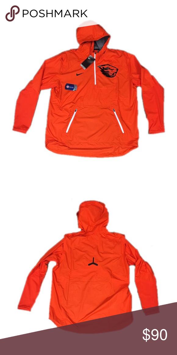 Oregon State Beavers Nike 1 2 Zip Vapor Jacket XL Brand new with tags  officially licensed Oregon State Beavers Nike men s 1 2 zip Vapor fly rush  pullover ... aa375c467
