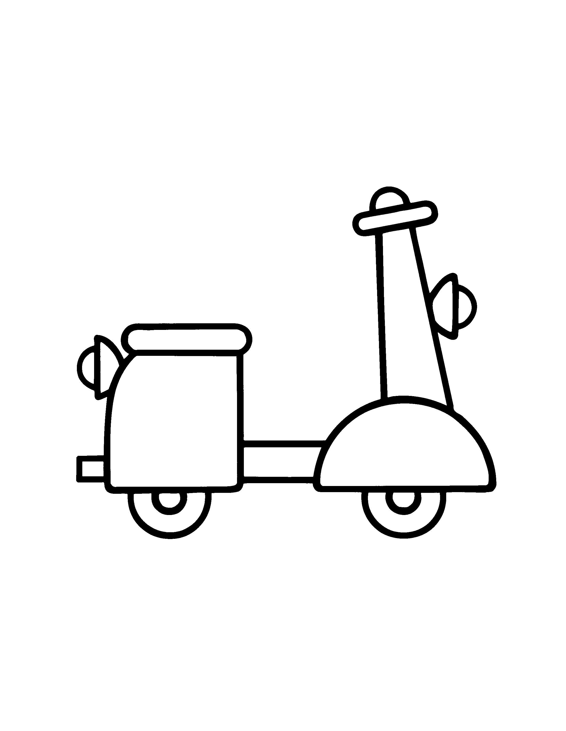 Desenhos para pintar Bumba 14