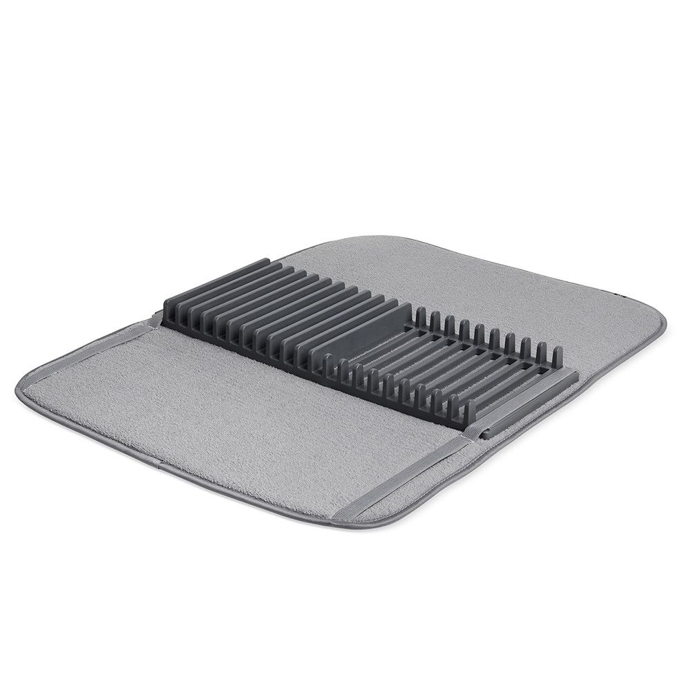 Discover The Umbra Udry Drying Mat Charcoal At Amara Dish Rack Drying Dish Drying Mat Drying Rack