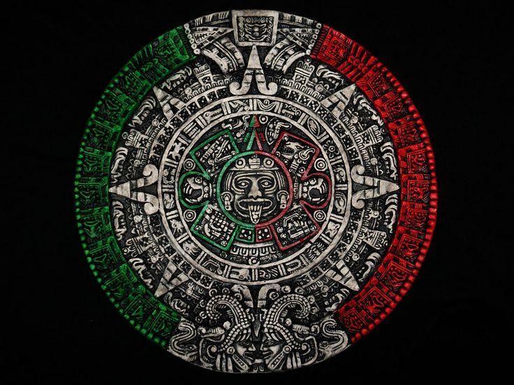 Calendario Azteca.Calendario Azteca Mi Mexico Aztecas En 2019 Calendario
