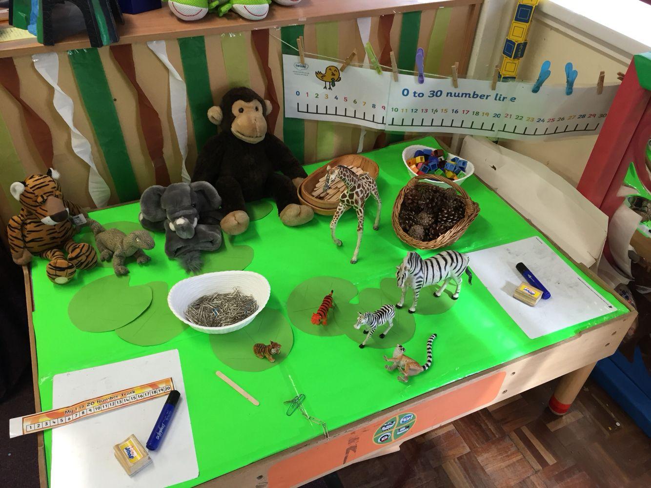 Maths Activity Ssm Jungle Topic Measuring Animals