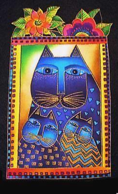 Cat-Laurel Burch-applique