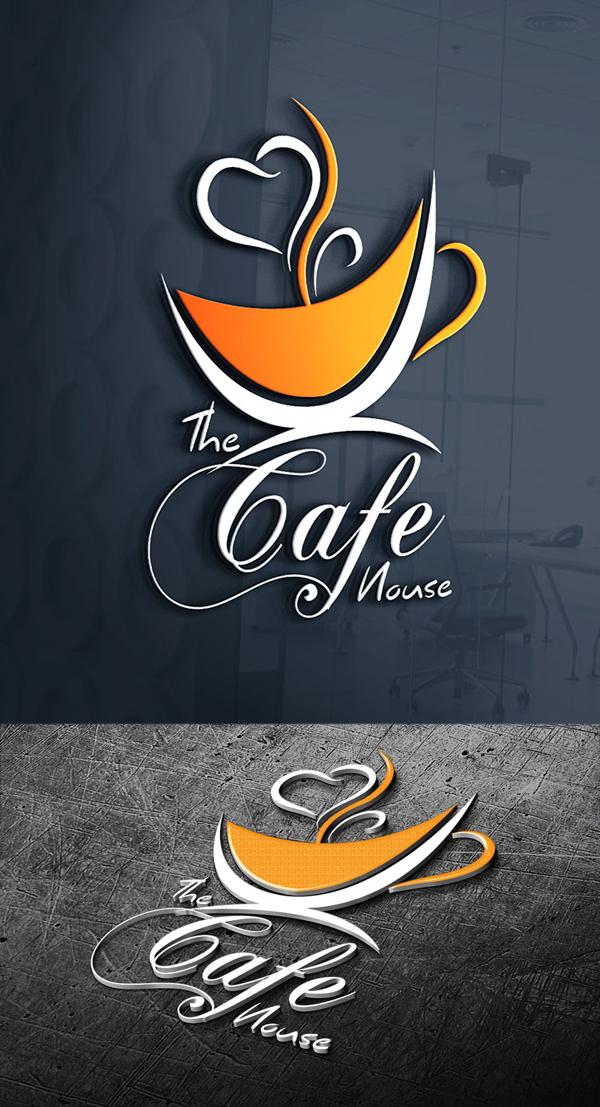 Cafe House Logo Design Cafe Logo Design Coffee Shop Logo Design Logo Design Coffee