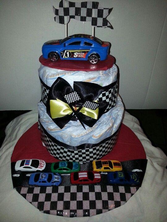 race car diaper cake kemoco whimsy diaper cakes pinterest cars