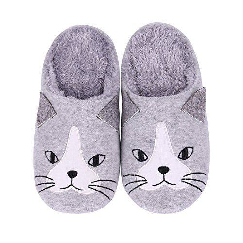 Shevalues Cute House Slippers Dog Penguin Animal Indoor Home ...