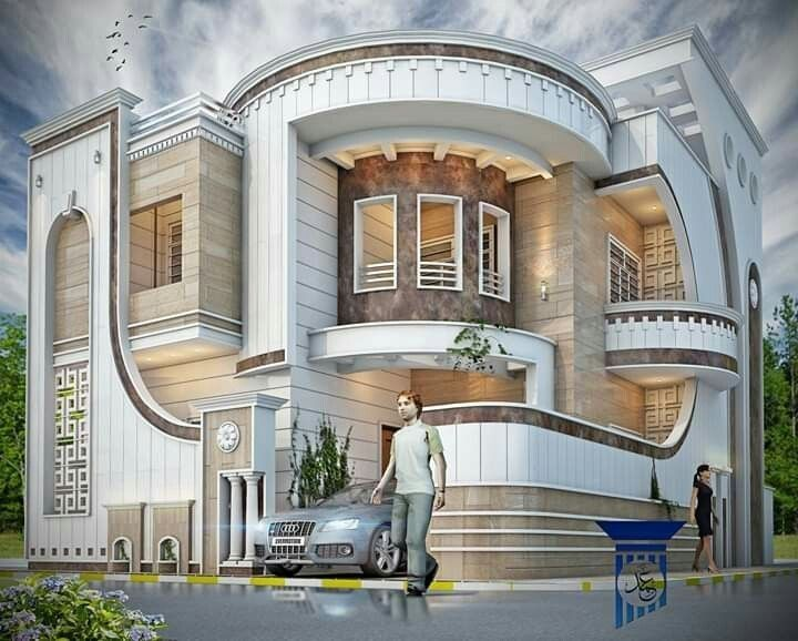 The Latest Super Luxury Home Design Images In 2020 Bungalow House Design Small House Elevation Design Duplex House Design