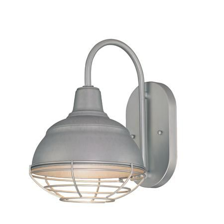 Industrial Cage Warehouse Shade Sconce Shades of Light $60