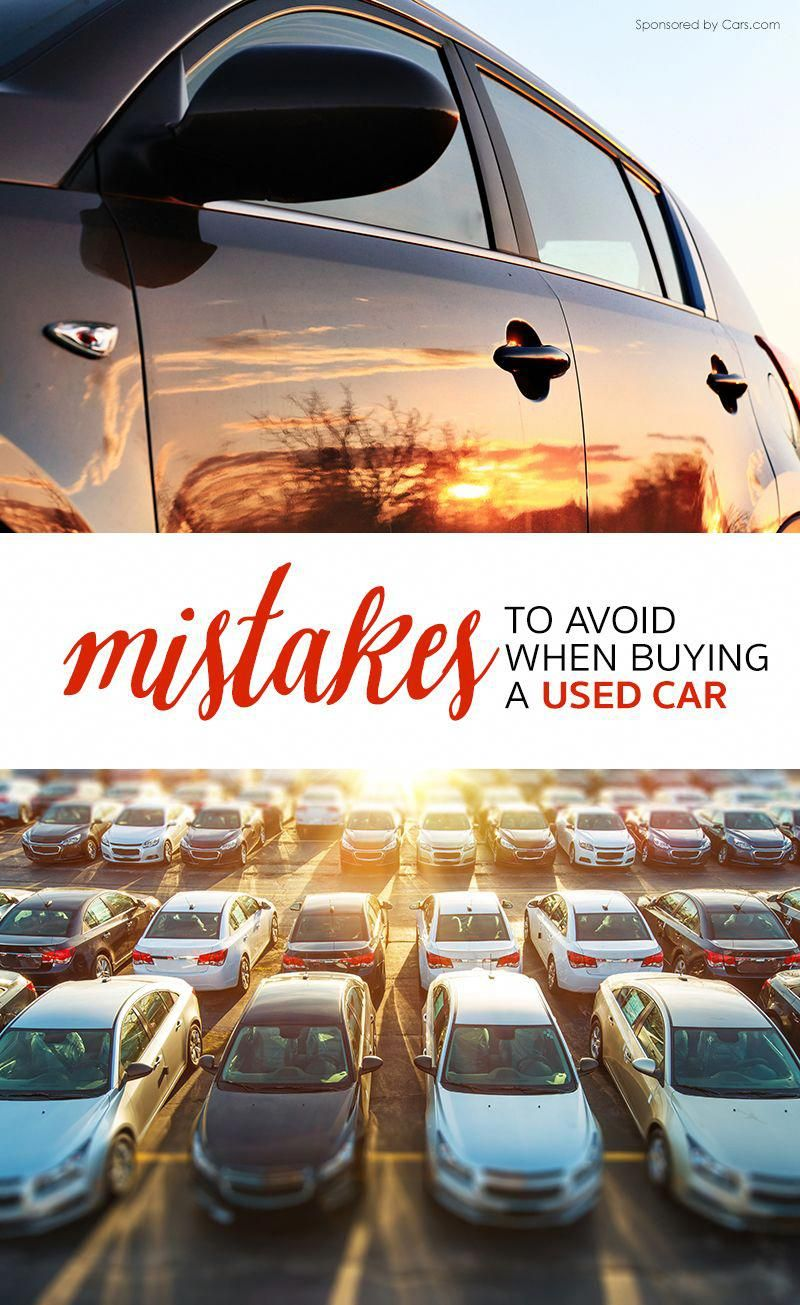 Frugal Car Buying 12 Mistakes to Avoid When Buying a Used