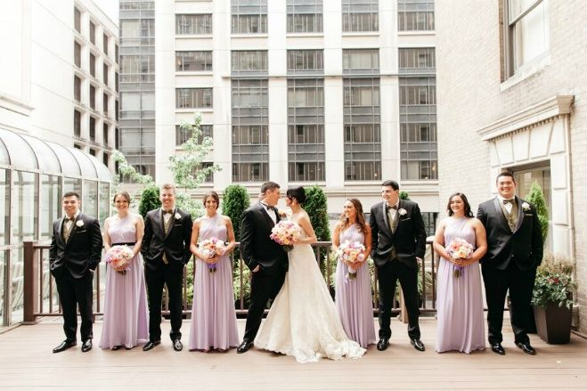 Downtown Seattle Wedding At The Fairmont Olympic Hotel Catie Coyle Photography Bride Magazine