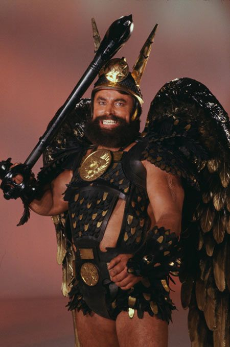voltan the king of hawkmen from flash gordon 80 39 s played