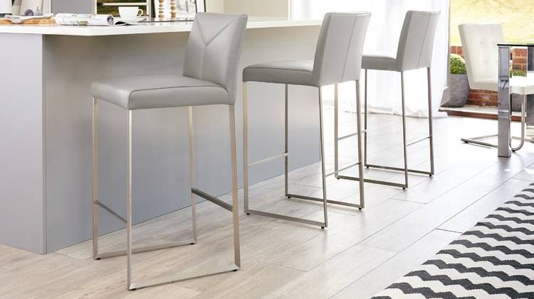 Monti Real Leather Bar Stools With Backs Leather Bar Stools Bar Stools With Backs Modern Bar Stools