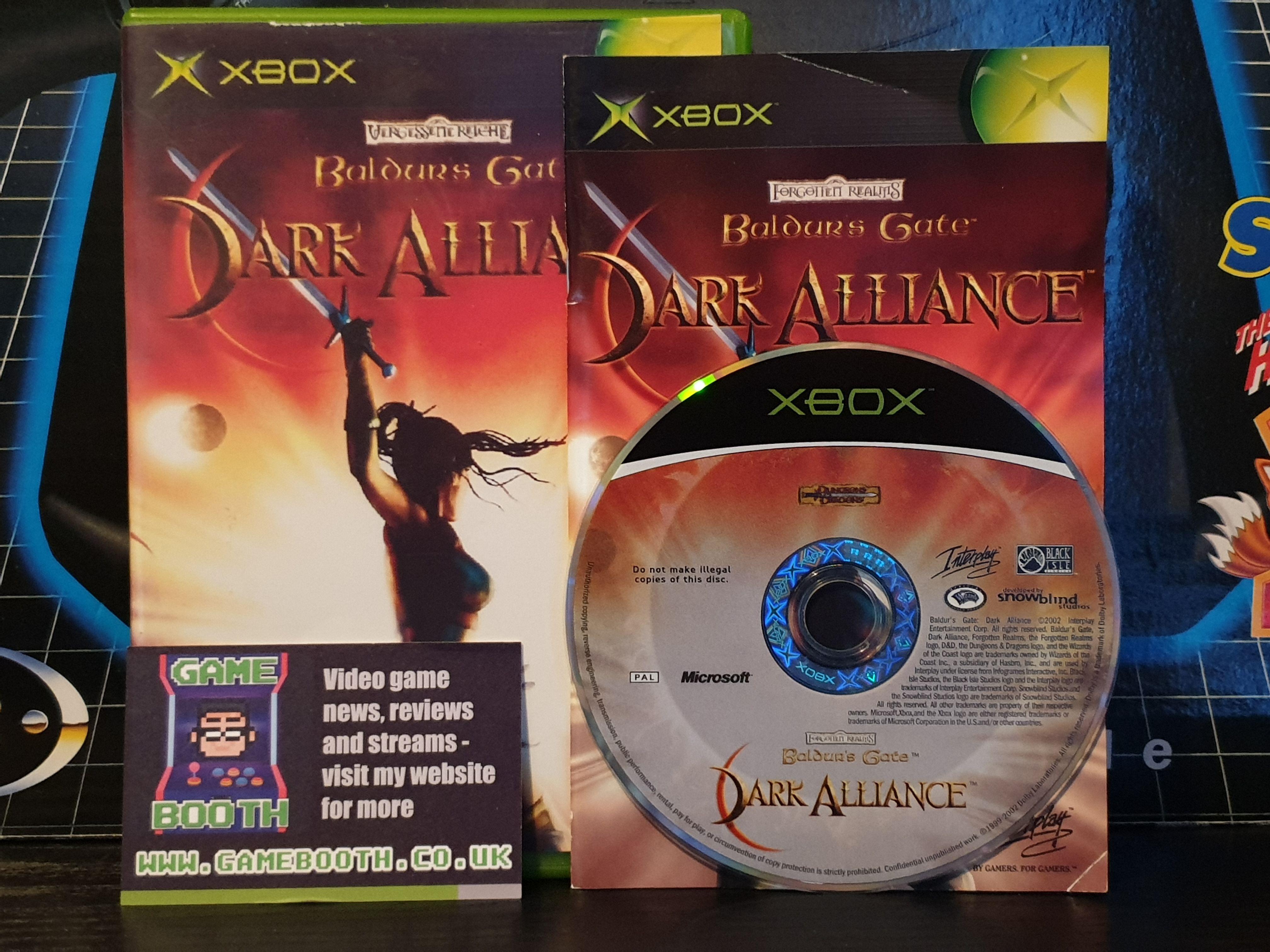 Game Of The Day Baldurs Gate Dark Alliance Baldursgate