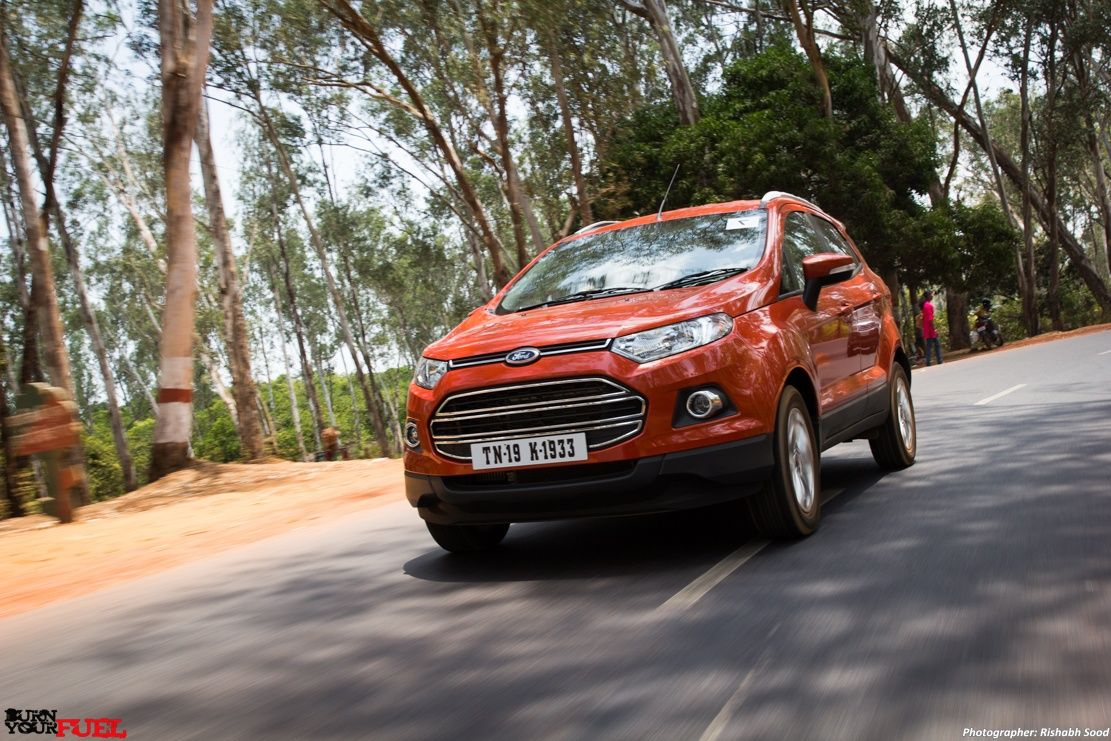 Ford EcoSport 1.0 litre EcoBoost Petrol First Drive Ford