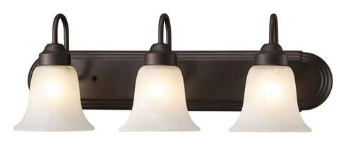 3 Light 24 Oil Rubbed Bronze Vanity At