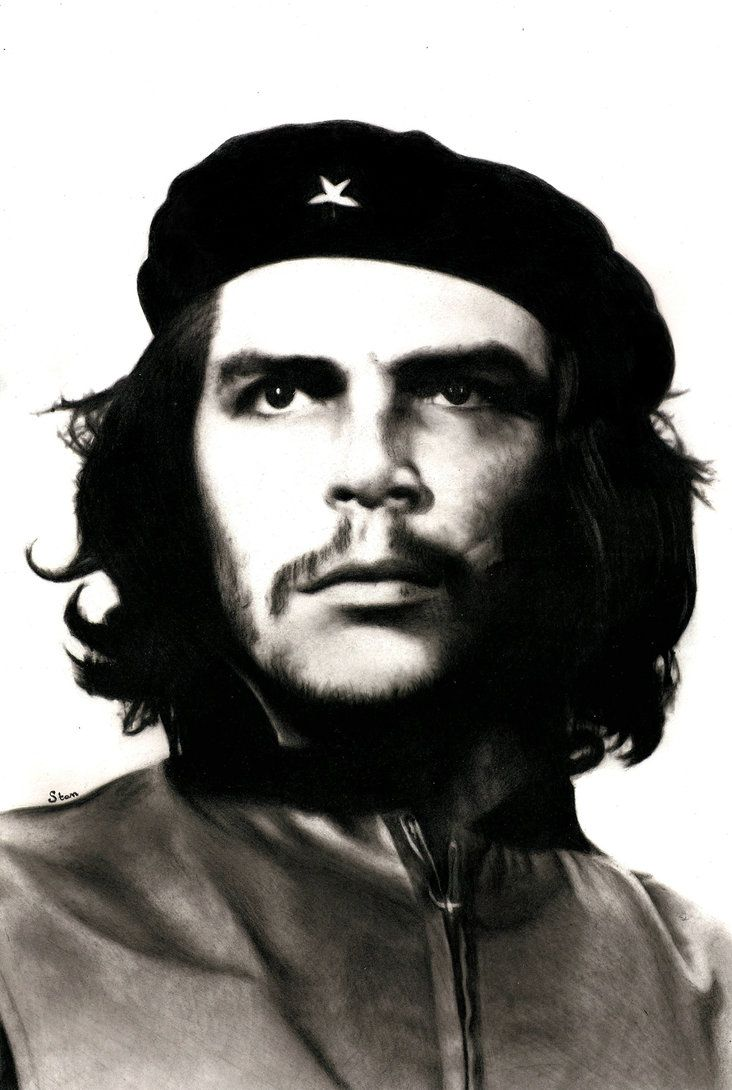 Ernesto che guevara by stanbos on deviantart art ideas in 2019