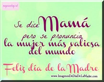 Feliz Dia Delas Madres Frases Cortas Feliz Día De La Madre