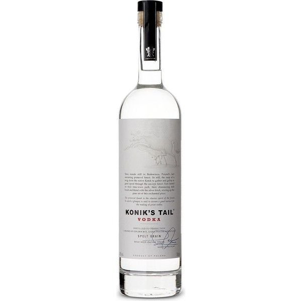 KONIKS TAIL Vodka 700ml ($58) ❤ liked on Polyvore featuring drinks