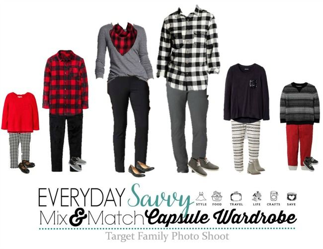 Coordinating Family Picture Outfit Ideas & Holiday Outfits #familyphotooutfits