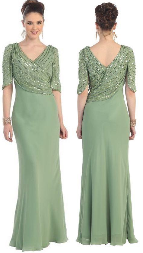 Vestido longo para mãe da noiva ou do noivo - O Blog para maiores de 50 6a6d8770211