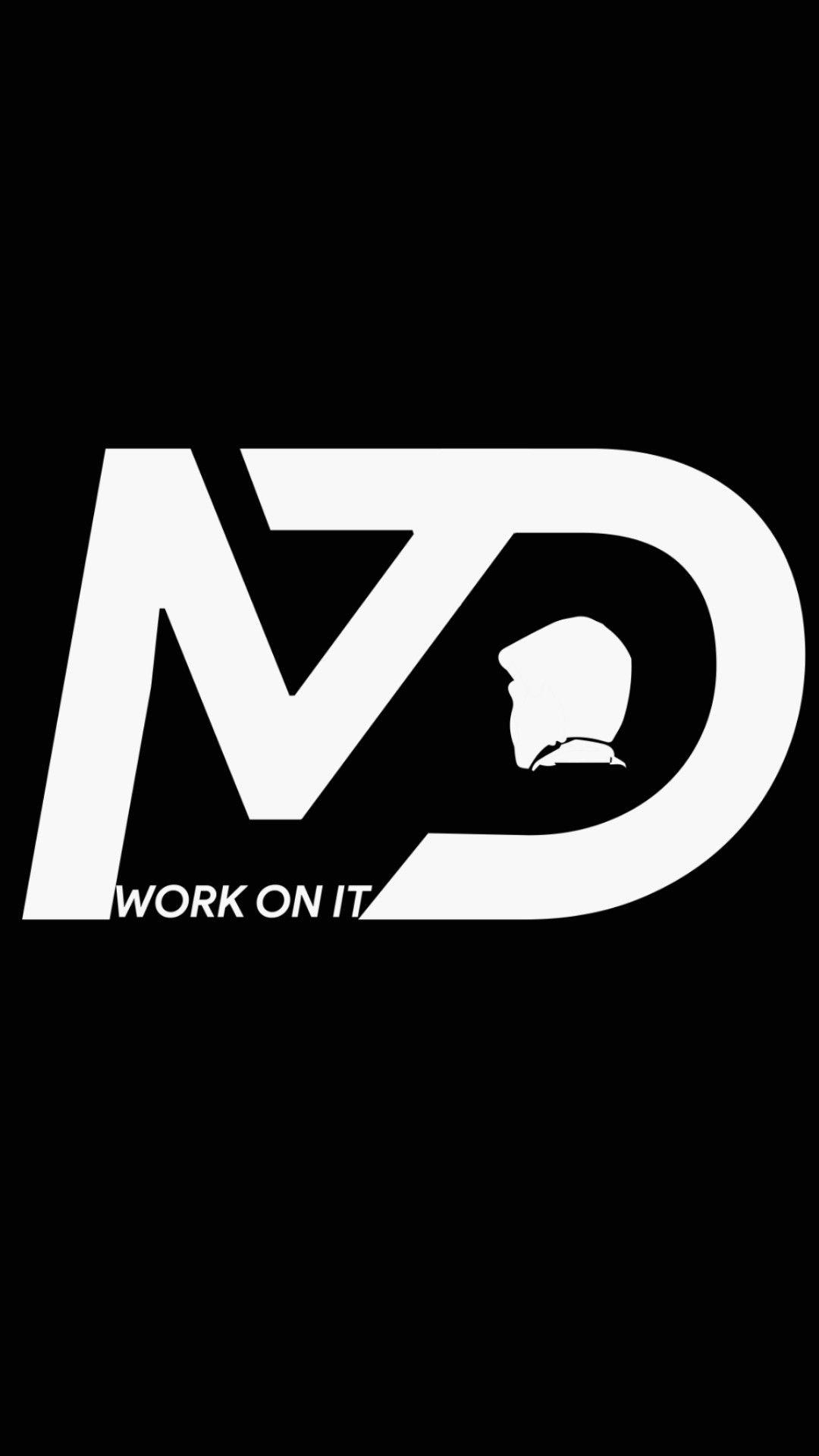 Md7 Logo Motivation Work On It Muralidhar Durgasi Logos Letter Logo Logo Design