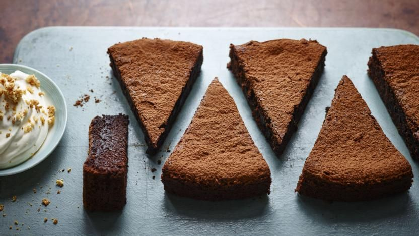 Sunken Chocolate Amaretto Cake Recipe Baking