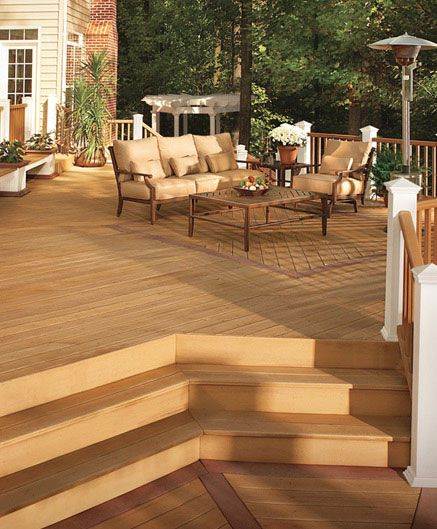 Like The Different Angles Of The Decking Plus The Neo