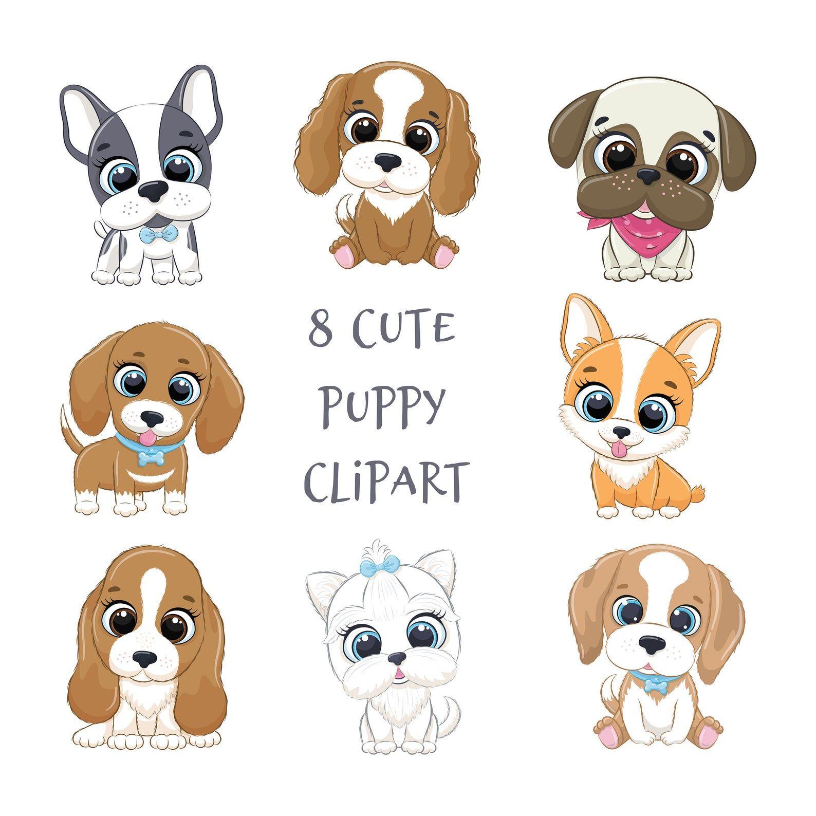 32++ Cute puppy dog clipart ideas