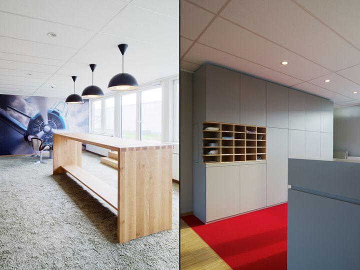 MaXxprint offices by design2sense, Leipzig Germany office