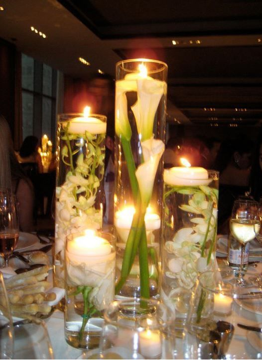 Cool Elegant Cylindrical Vases Wedding Centerpieces With Glass