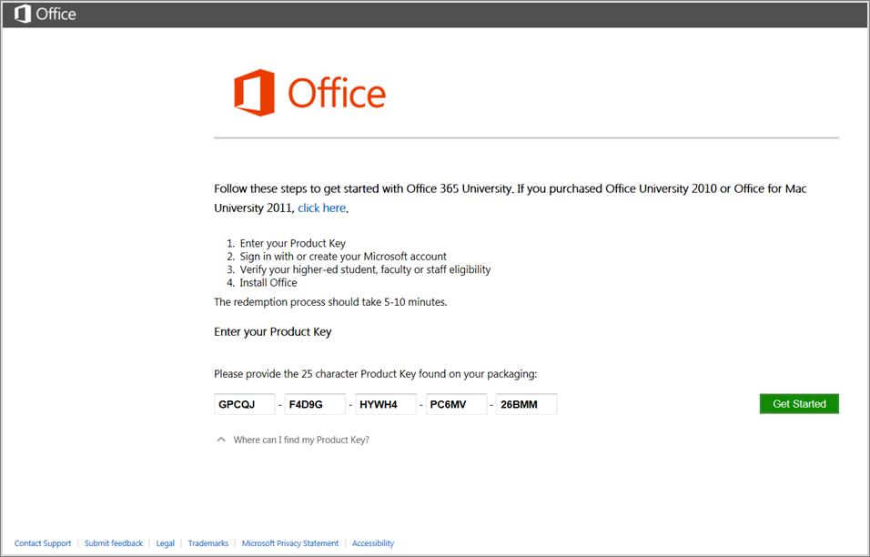 Скачать office 365 с ключом
