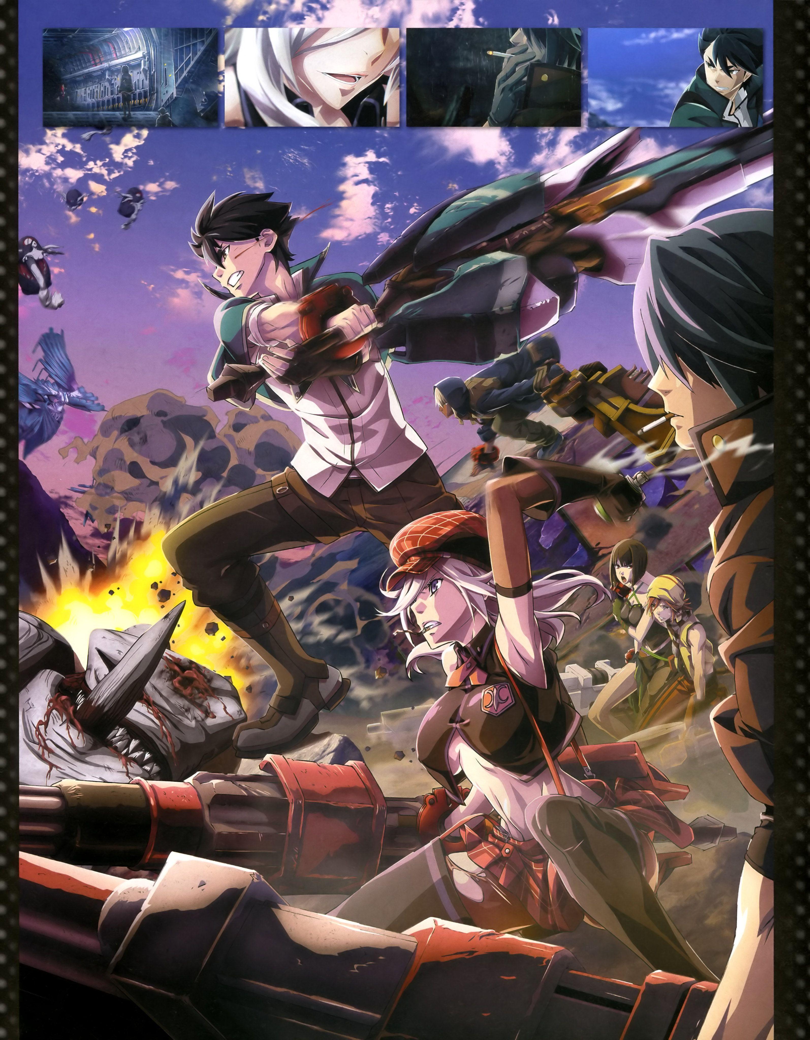 latest (3189×4096) God eater Anime, Animes de accion y