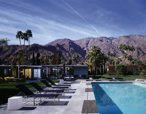 Dinah Shore House Palm Springs CA by JuliusShulman