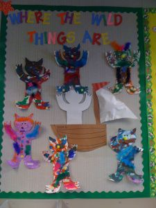 """This is the completed """"Wild Thing"""" board."""