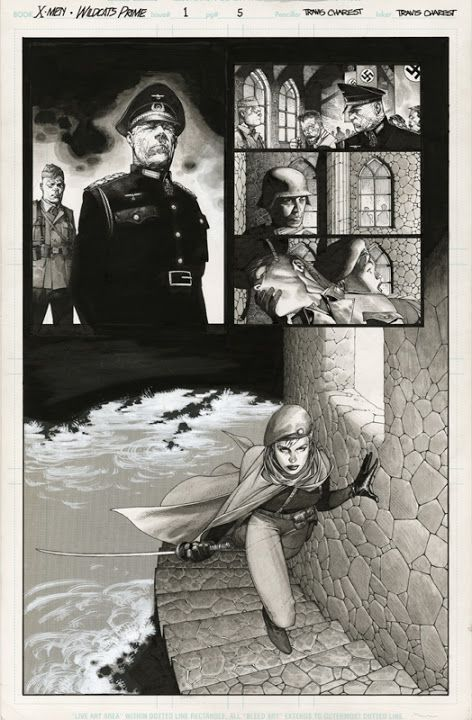Comic pages - Travis Charest - Picasa Web Albums