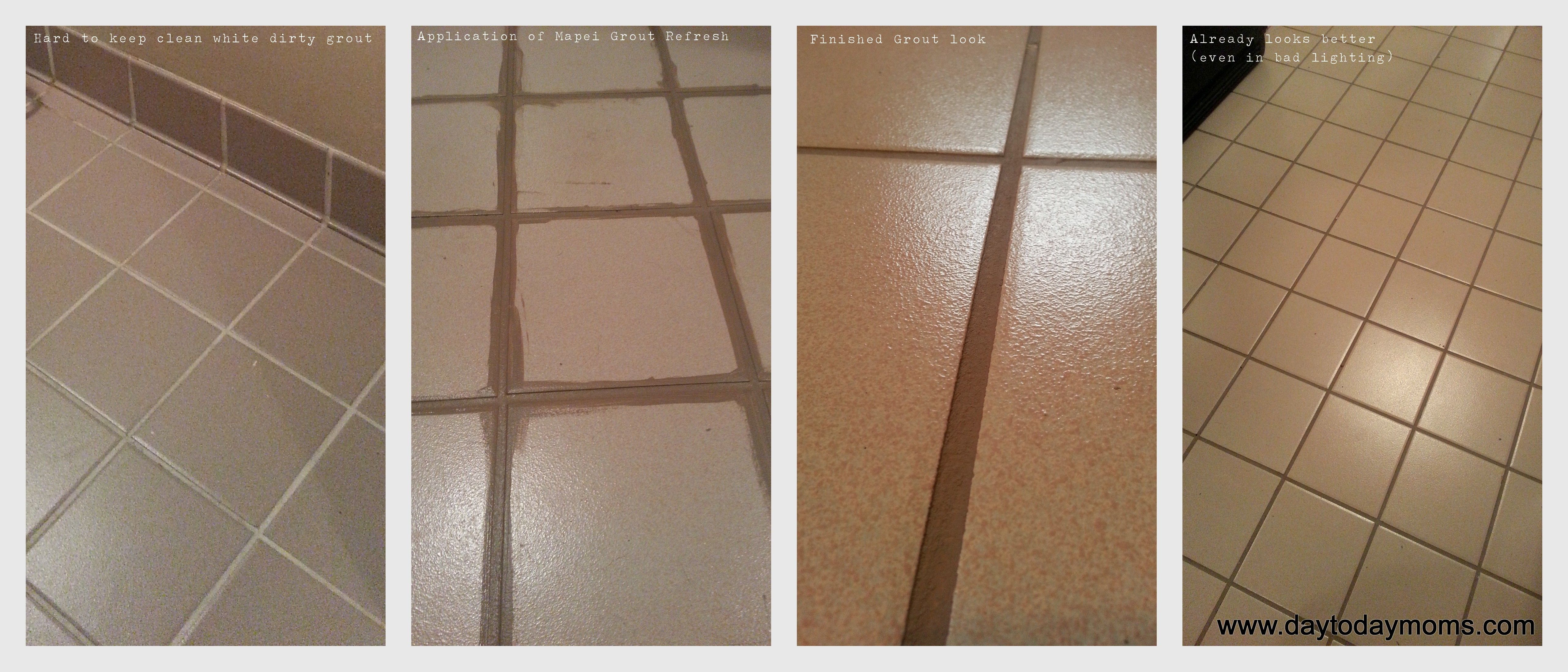 Recoloring Grout Made Easy -Mapei Grout Refresh | Mapei ...