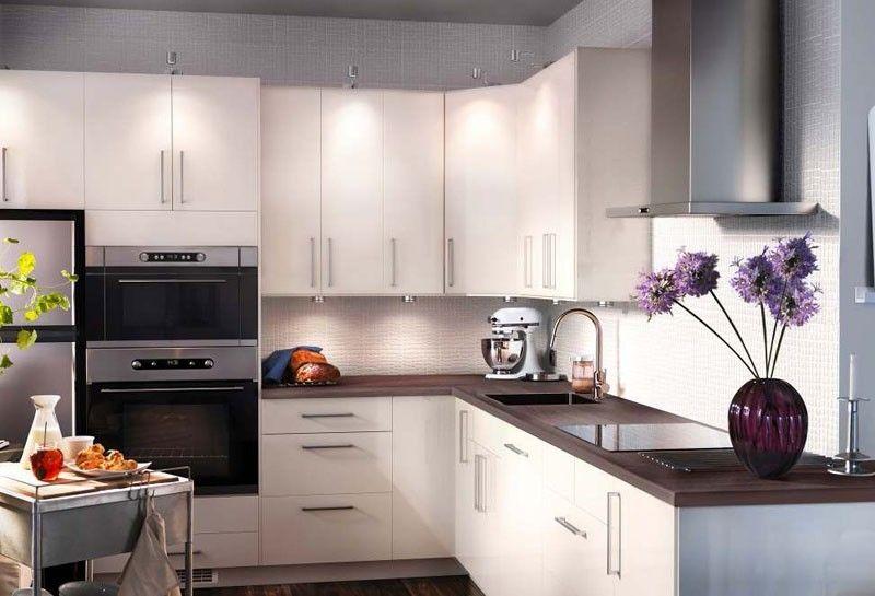 Arredare una cucina piccola e abitabile - Cucina piccola ed elegante