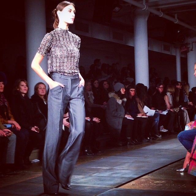 Wes Gordon at New York Fashion Week AW15. See more #nyfw http://seen.co/event/ny-fashion-week-fw15-day-2--2015-8679/highlight/68553