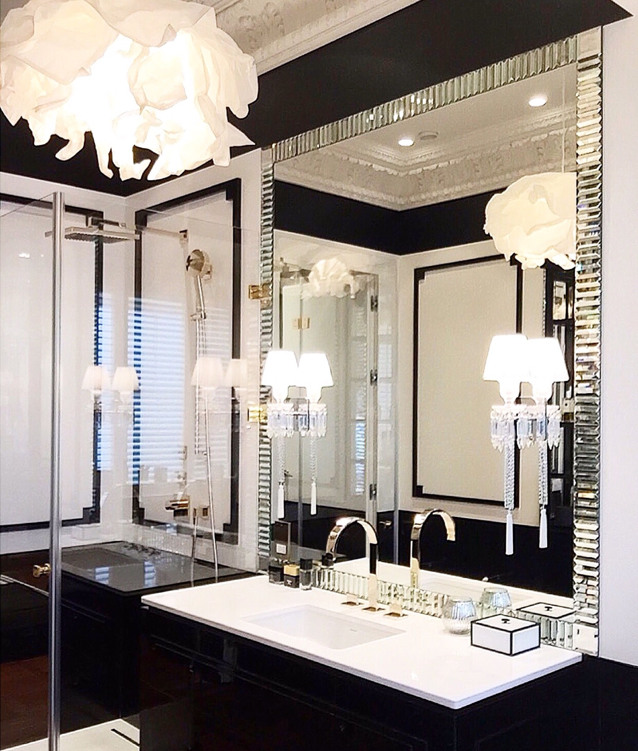 Design Aleksandra Miecznicka Glamorous Bathroom Decor Glamorous