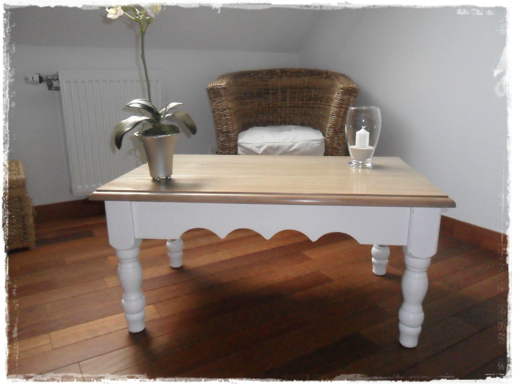 Table patin e mon home sweet home en 2018 pinterest table mobilier de salon et - Relooker une table de salon ...