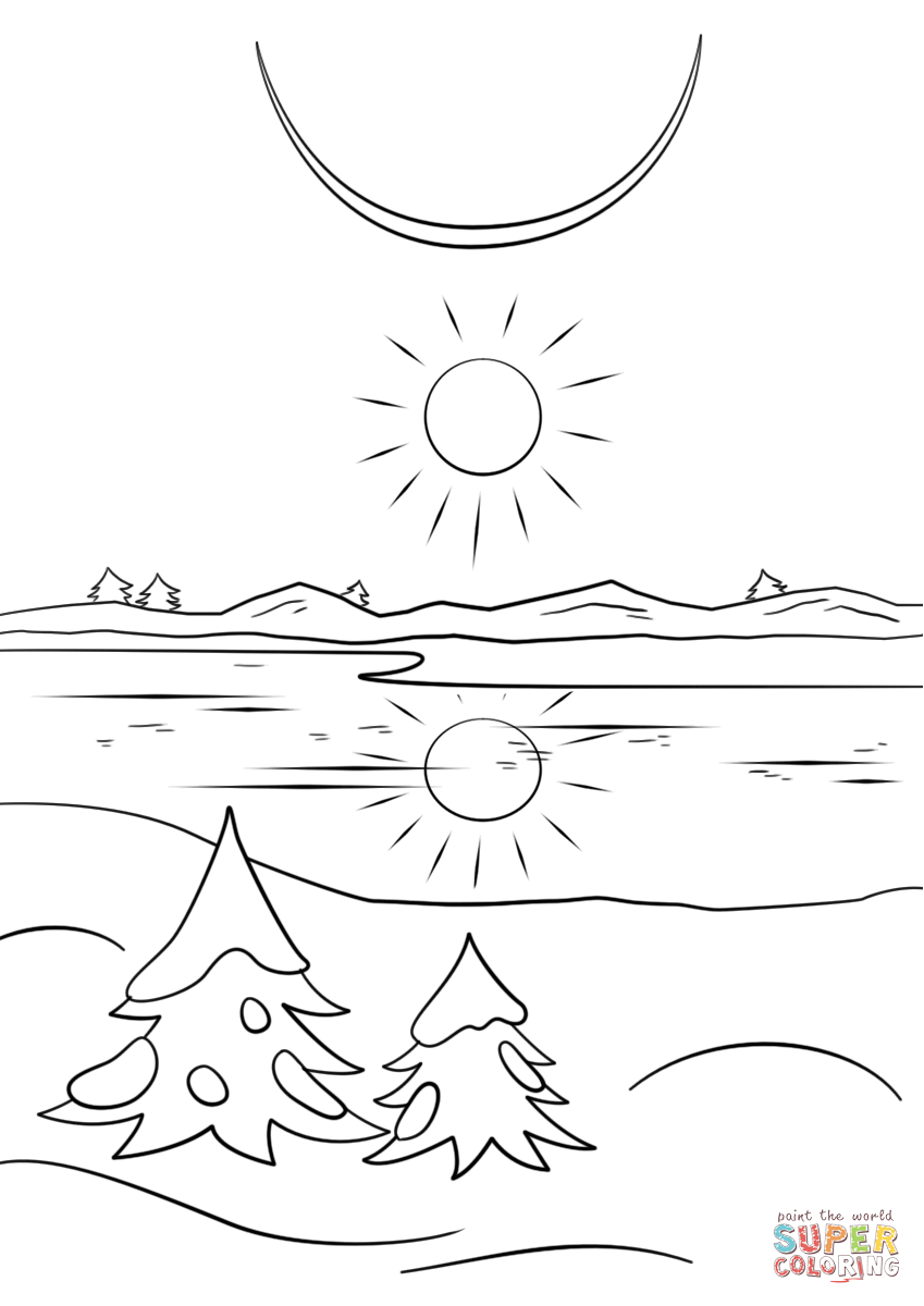 Winter Solstice Coloring Page Free Printable Coloring Pages Free Printable Coloring Pages Coloring Pages Coloring Pages Winter
