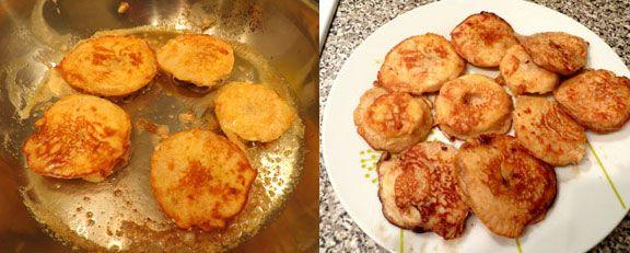 Fried apples in batter recipe