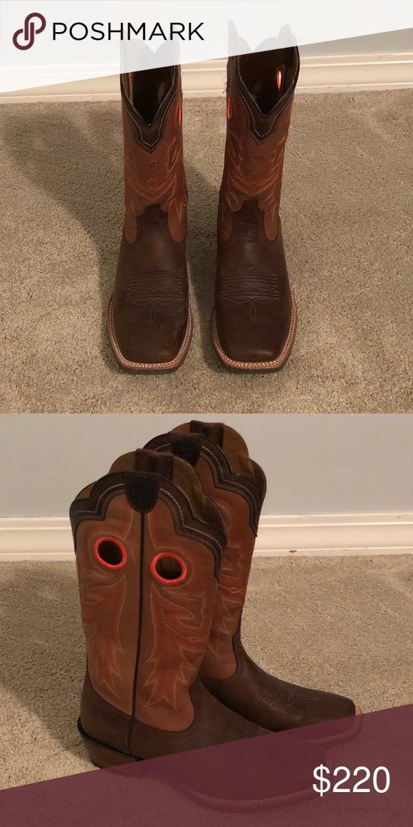 ea7b644dd1b Men's Ariat Wildstock Western Boot BRAND NEW! Ariat Square Toe Boots ...