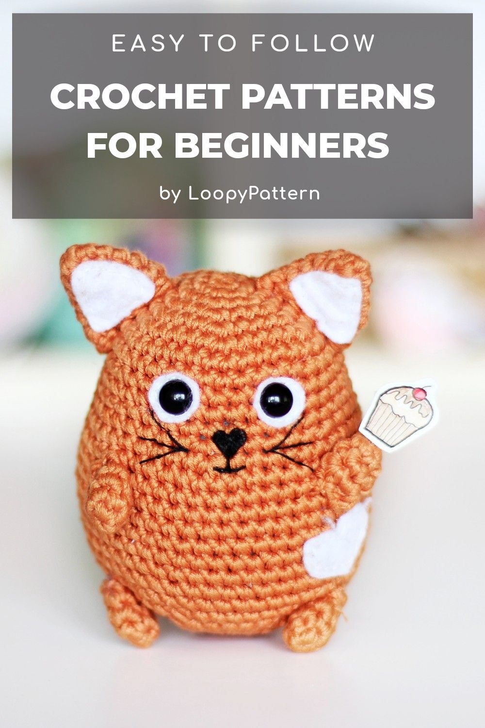 Free crochet cat pattern | Crochet cat pattern, Crochet cat ... | 1500x1000