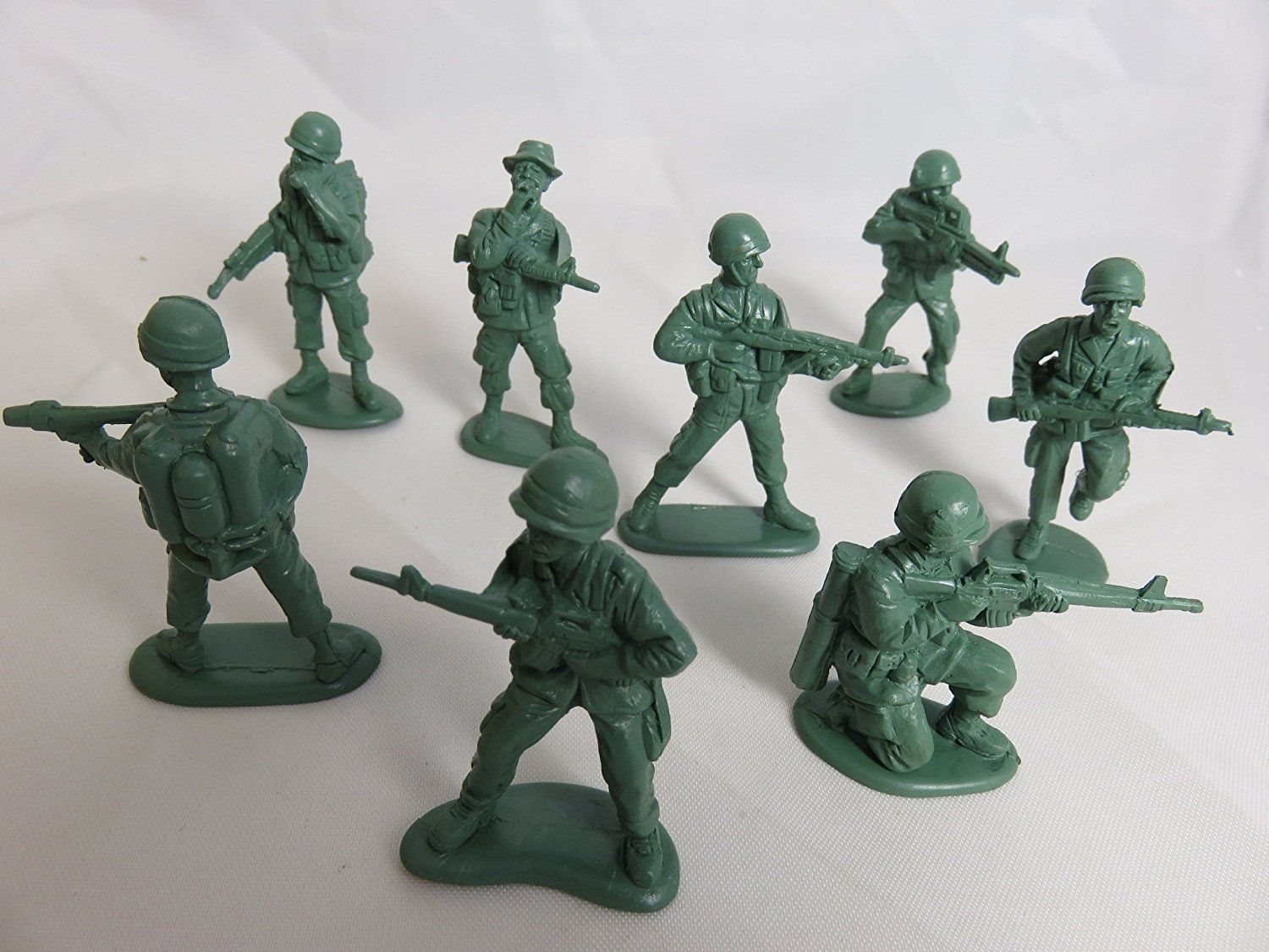 """144 PIECE BLUE PLASTIC ARMY MEN 2/"""" TOY SOLDIERS ACTION PARTY BIRTHDAY FAVORS"""