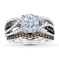 Beautiful Chocolate Levian Engagement Ring