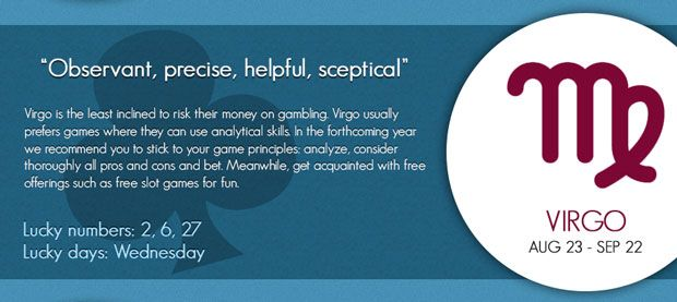 Pin on Gambling Horoscope by Slotozilla com