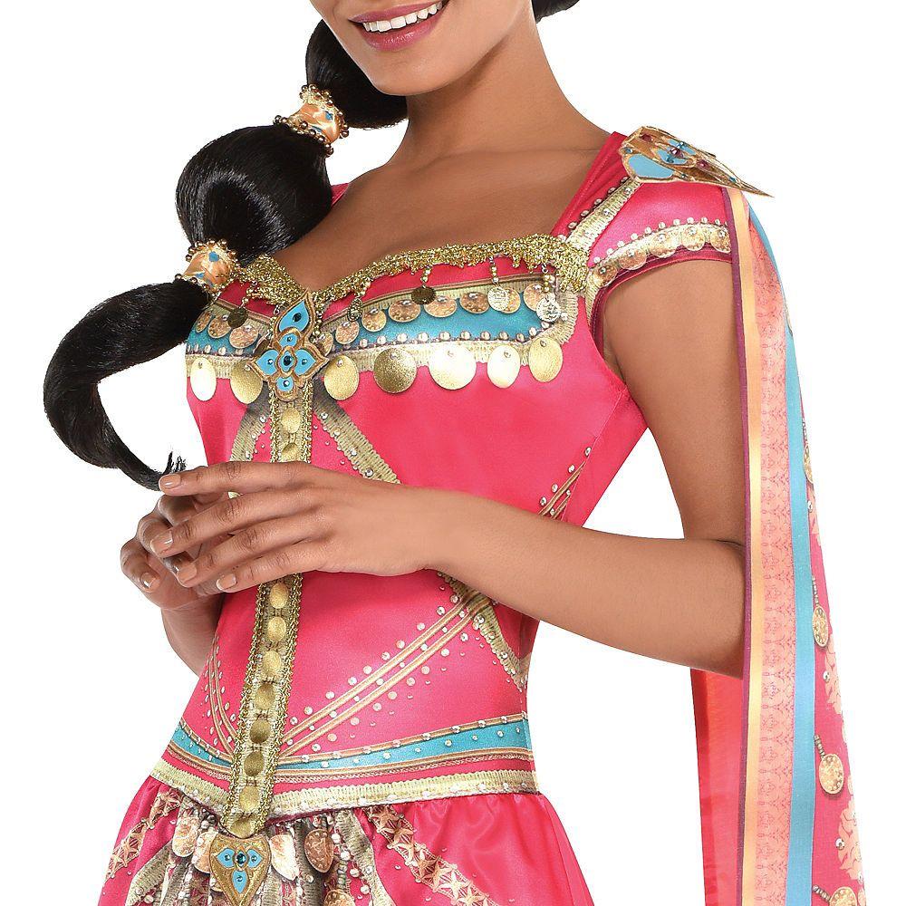 Royal Princess Jasmine Dress for Adults Aladdin Live